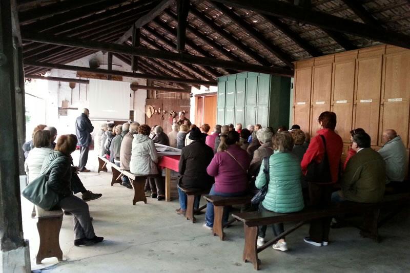 25/10/2015 Visita all'Istituto bacologico Marson a Vittorio Veneto