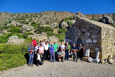 27 dicembre 2017 – 3 gennaio 2018 - Trekking a Creta